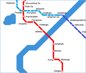 Detailed Hangzhou Metro Maps Collection 2013