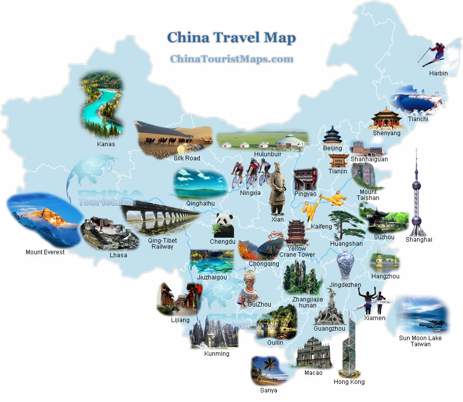 A Tourists Top 10 Things to Know Before Travelling to China – Tourist Attractions Map In France