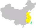 Maps of East China