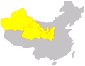 Maps of Northwest China