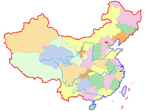 China blank map blank map of china china blank map with beijing china blank map showing provinces gumiabroncs Images