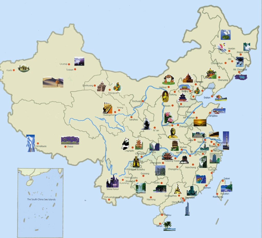 China Travel, China Tour, China Travel Map, China World Heritages China Travel Maps