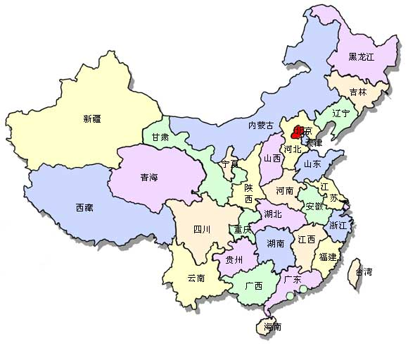 Map Of China In Chinese China Map China Province Map