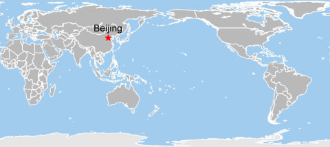 Beijing World Map, World Map of Beijing, Beijing Location Map