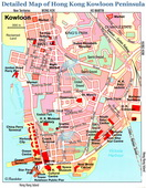 Detailed Kowloon Map