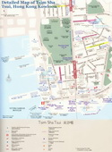 Map of Tsim Sha Tsui