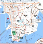 Map of Kowloon Districts