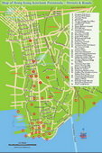 Kowloon Roads Map