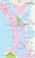 Map of Sanya City