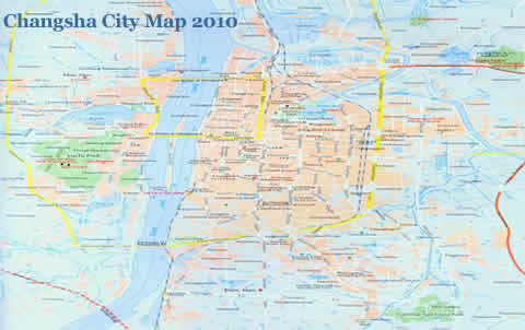 Changsha City Map Updated