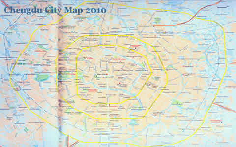 Chengdu Maps Chengdu City Map Chengdu China Map