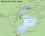 Dianchi Lake Map