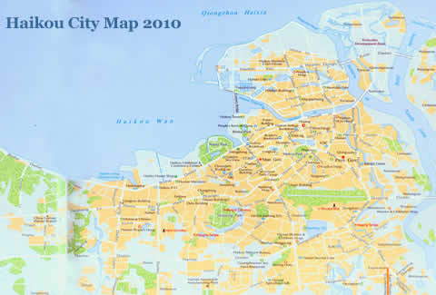 Haikou City Map 2011