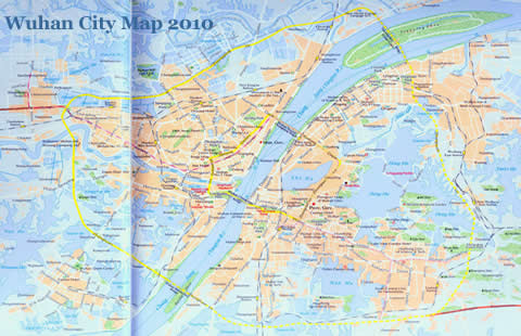Wuhan City Map 2011