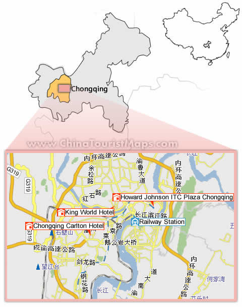 chongqing hotels map location discount price rh chinatouristmaps com