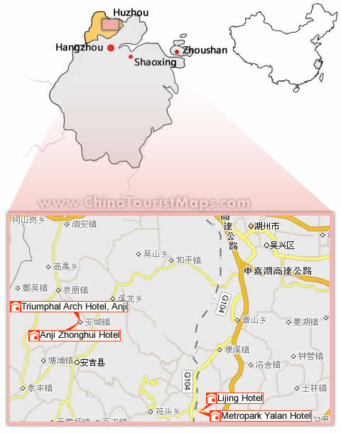 Hotels In Huzhou And Maps