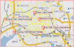 Kunming Hotel Map