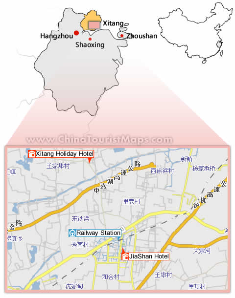 Hotels In Xitang And Maps