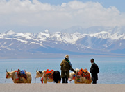 Lake-namtso in Tibet