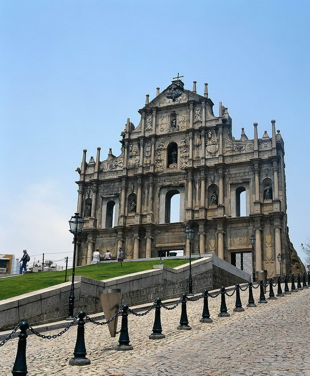 Ruins of Pauls in Macau