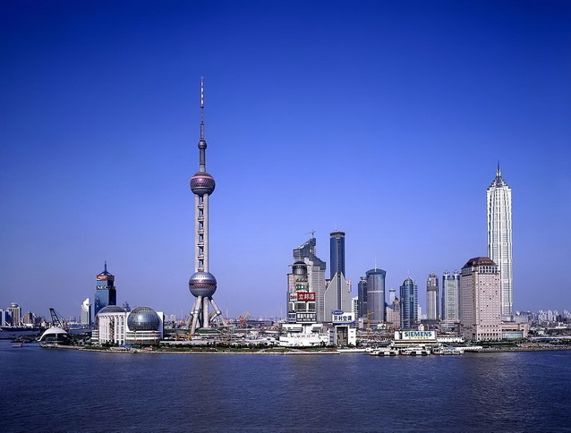 The Shanghai Bund