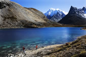 Three Holy Mountains in Daocheng, Sichuan Province
