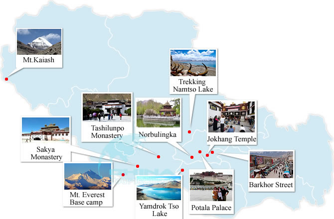 Top 10 Attractions of Tibet