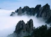Huangshan or the Yellow Mountain in east China's Anhui Province