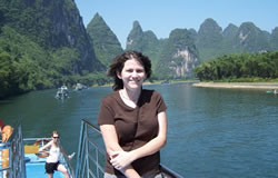 cruising on the li river