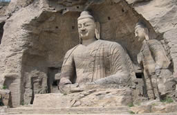 Yungang Grottoes of Datong City in Shanxi Porvince