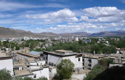 shigatse city of tibet