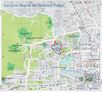 Beijing Summer Palace Location Map