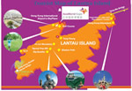 Hong Kong Lantau Island Tourist Map