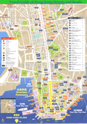 hong kong travel map guide