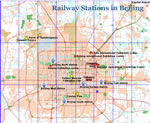 Beijing Railway Stations Map