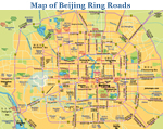 Beijing Map,Ring Roads