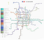 Beijing Subway Map 2012 (in Chinese)