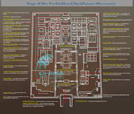 Foubidden City Tourist Map