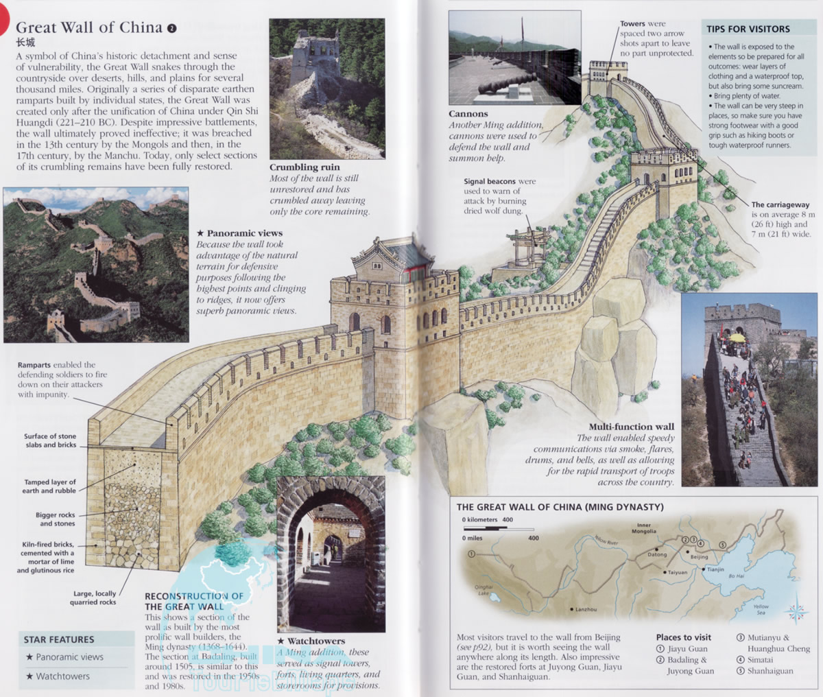 a history of great wall of china Great wall of china: history of construction the great wall developed from the disparate border fortifications and castles of individual chinese kingdoms.
