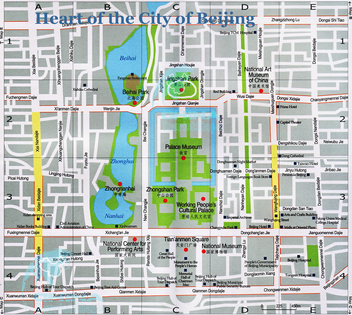 Beijing Heart Map