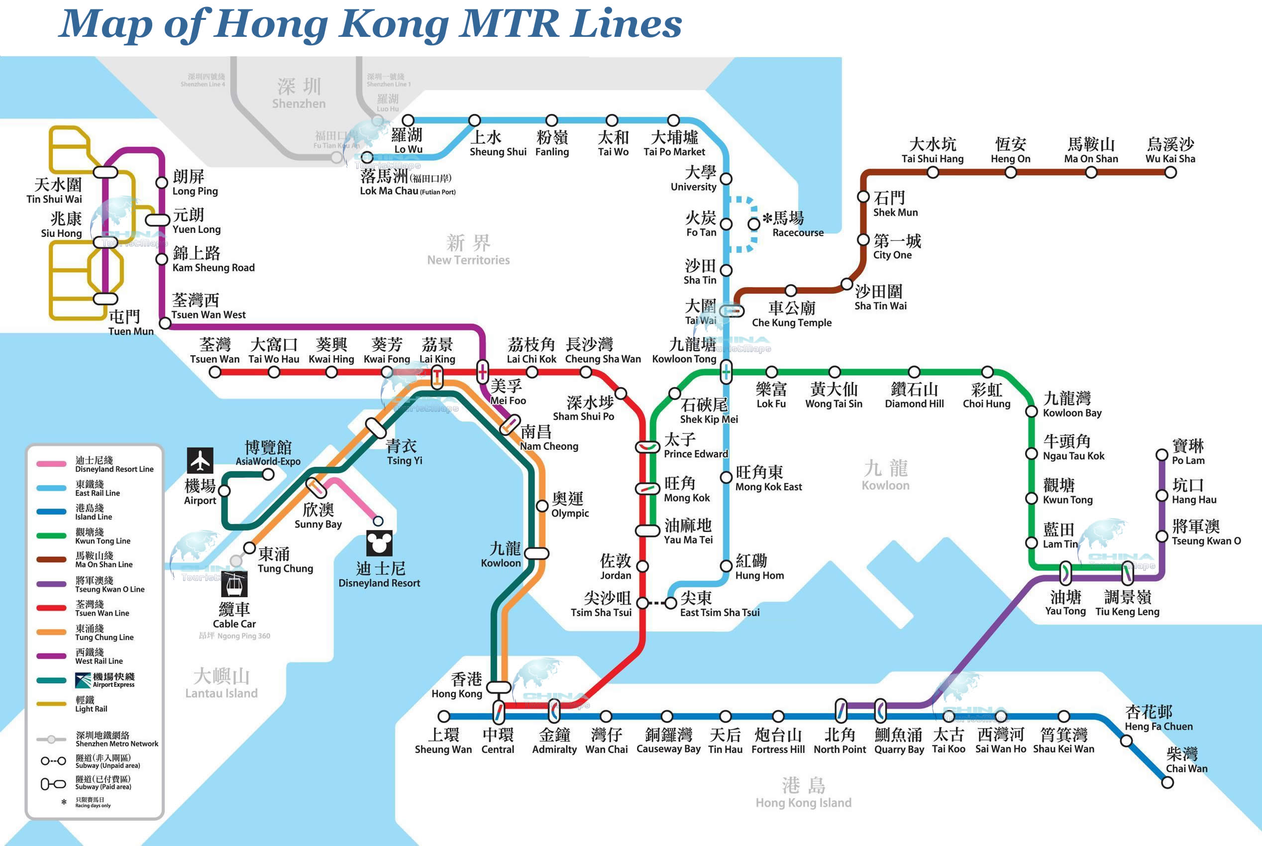 Guide To Using The MTR In Hong Kong