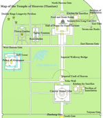 Beijing Temple of Heaven Layout Map