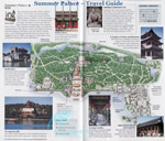Beijing Summer Palace Travel Map
