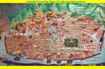 Detailed Labrang Monastery Tourist Map