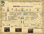 Detailed Mogao Grottoes Tourist Map