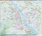 Guangdong Doumen Travel Map
