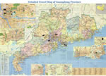 Detailed Guangdong Travel Map