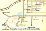 Travel Map of Dunhuang City