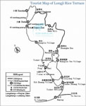 Longji Rice Terrace Travel Map