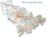 Jilin Topographic Map